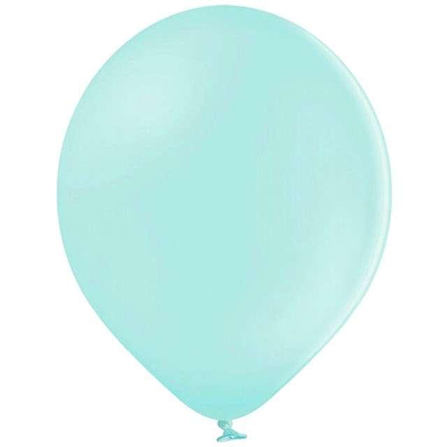 """Balony """"Pastel"""", miętowe jasne, 14"""" BELBAL, 100 szt"""
