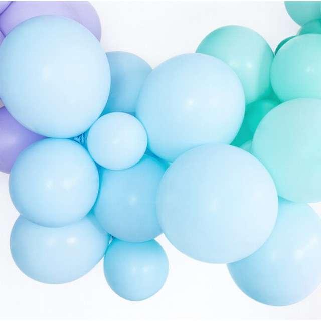Balony Pastel niebieskie jasne 14 BELBAL 100 szt