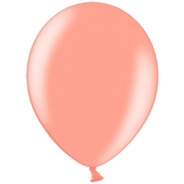 """Balony """"Metalic"""", różowo-złote, 12"""" BELBAL, 100 szt"""
