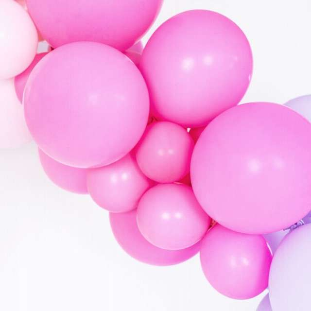 Balony Pastel fuksja 12 BELBAL 100 szt