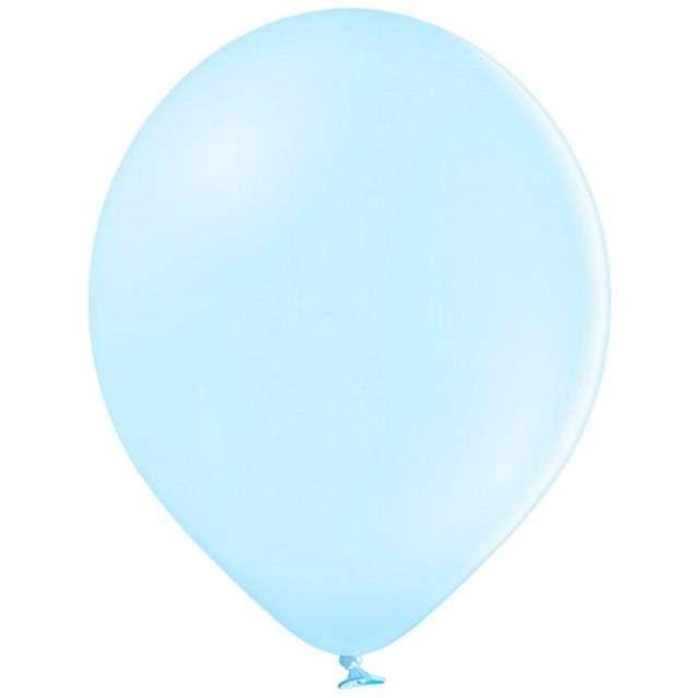 Balony Pastel niebieskie jasne 12 BELBAL 100 szt