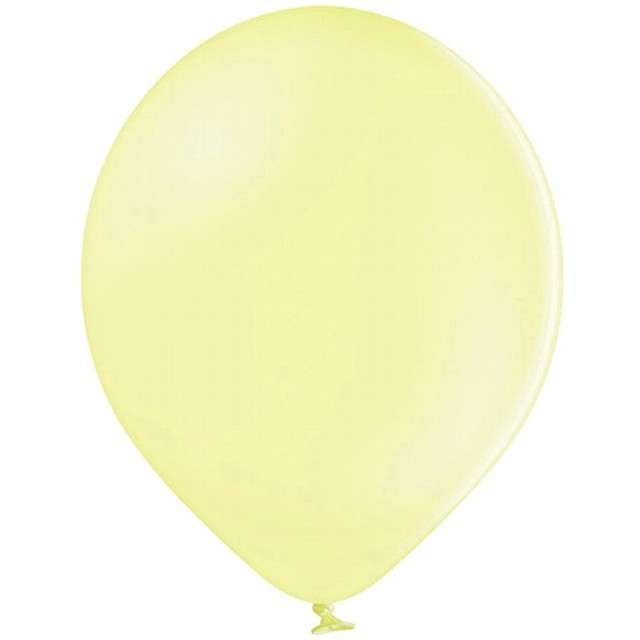 """Balony """"Pastel"""", żółte jasne, 12"""" BELBAL, 100 szt"""