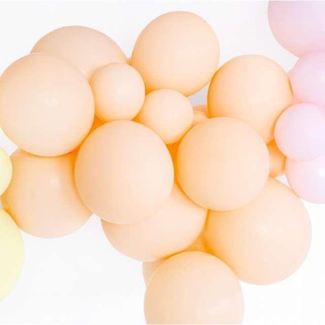 Balony Pastel brzoskwiniowe jasne 12 BELBAL 100 szt
