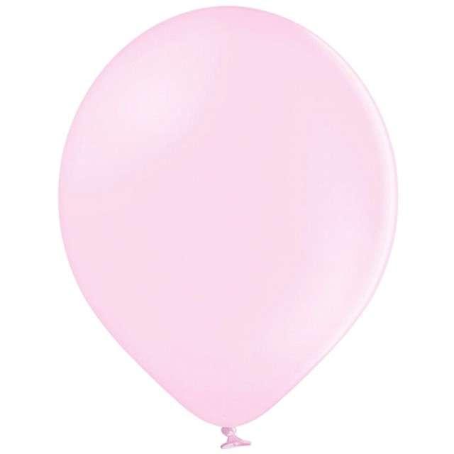 """Balony """"Pastel"""", różowe jasne, 12"""" BELBAL, 100 szt"""