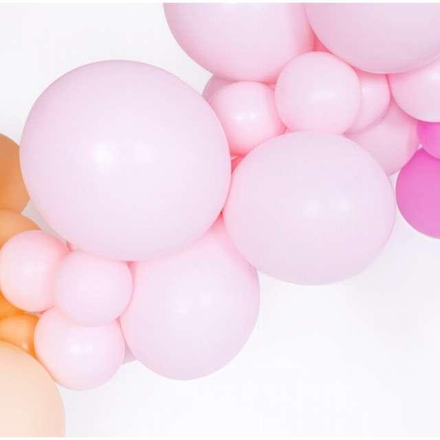 Balony Pastel różowe jasne 12 BELBAL 100 szt