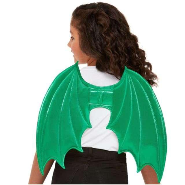 """Skrzydła """"Smok"""", zielony, SMIFFYS, 41x30 cm"""