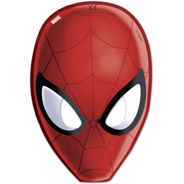 "Maska ""Ultimate Spiderman Web Warriors"", PROCOS, 6 szt"