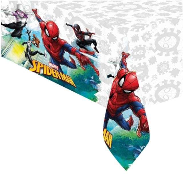 "Obrus foliowy ""Spiderman Team Up"", PROCOS, 180x120 cm"