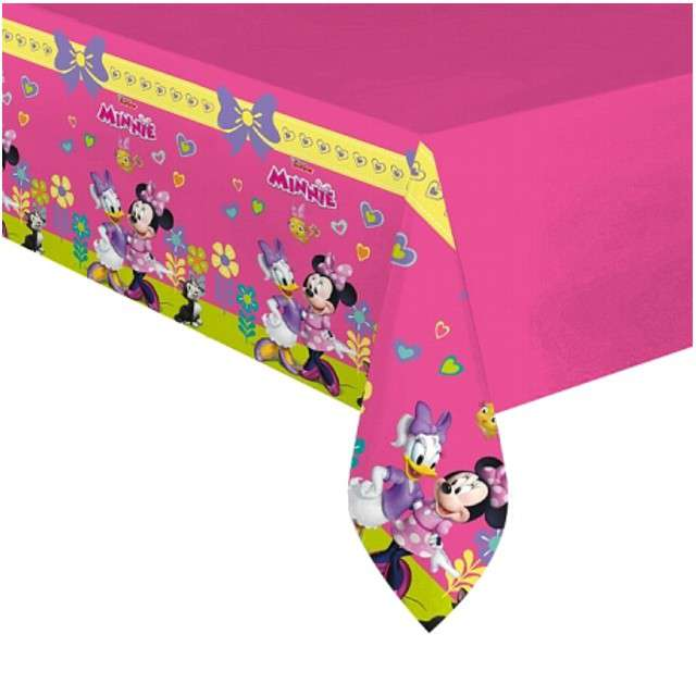 "Obrus foliowy ""Minnie Happy Helpers"", PROCOS, 180x120 cm"
