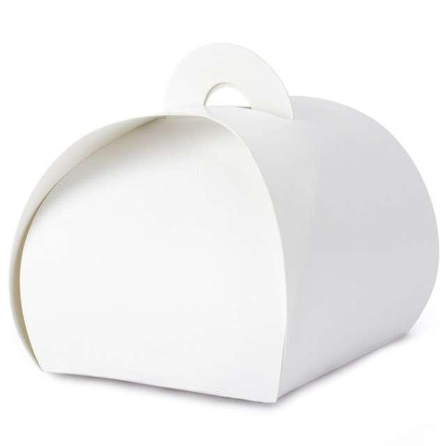 """Pudełeczka dla gości """"Premium Box"""", biały, PartyDeco, 10 szt"""