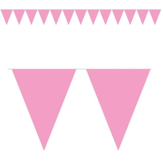 "Baner flagi ""Classic XL"", różowy jasny, FOLAT, 1000 cm"