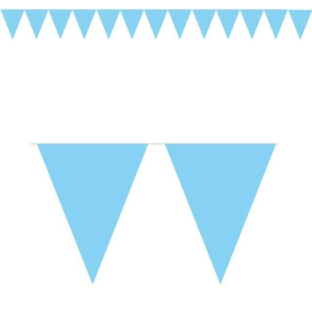 "Baner flagi ""Classic XS"", niebieski jasny, FOLAT, 300 cm"