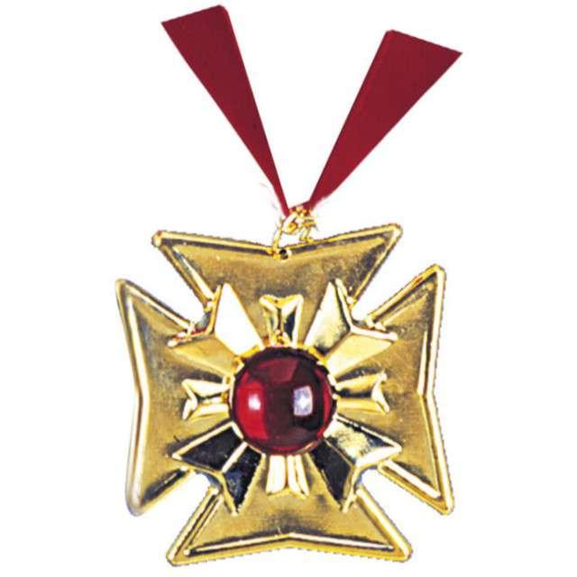 """Naszyjnik """"Medalion Wampira"""", złoty, WIDMANN"""