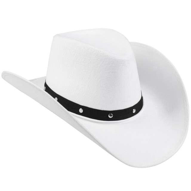 """Kapelusz """"Kowboj"""", biały, BOLAND"""