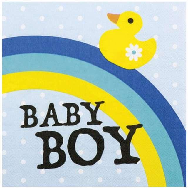 "Serwetki ""Baby Boy"", BOLAND, 33 cm, 12 szt"