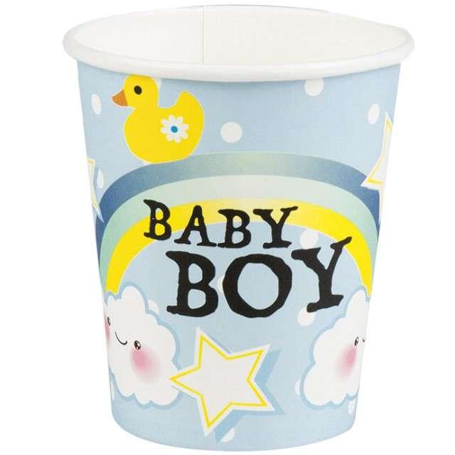 """Kubeczki papierowe """"Baby Boy"""", BOLAND, 250ml, 6 szt"""