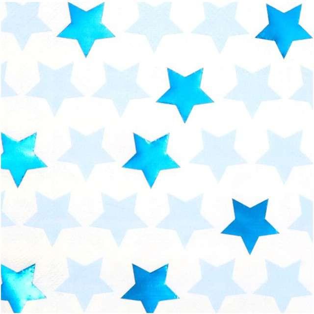 "Serwetki ""Little Star - Blue"", NEVITI, 33 cm, 16 szt"