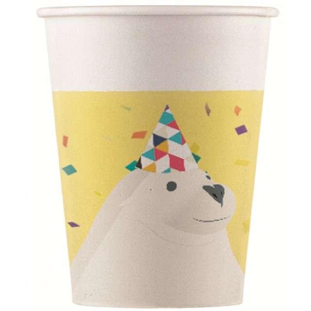 """Kubeczki papierowe """"Arctic"""", PROCOS, 200 ml, 8 szt"""