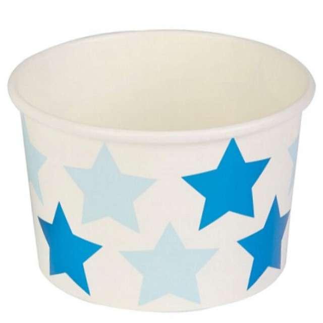 """Kubeczki do lodów """"Little Star - Blue"""", NEVITI, 200 ml, 8 szt"""