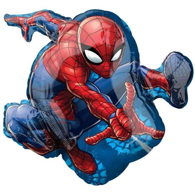 """Balon foliowy """"SpiderMan"""", AMSCAN, 24"""" SHP"""