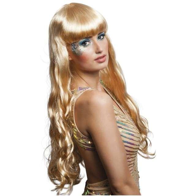 """Peruka party """"Syrena Oceana"""", blond, BOLAND"""