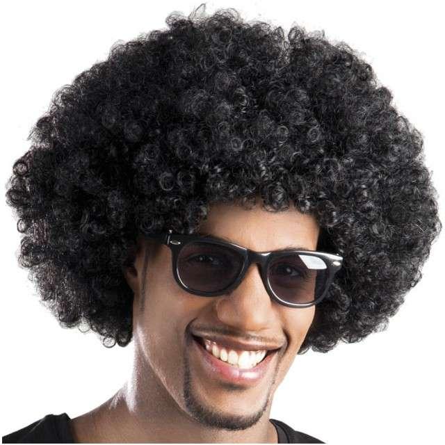 """Peruka """"Afro"""", czarna, BOLAND"""