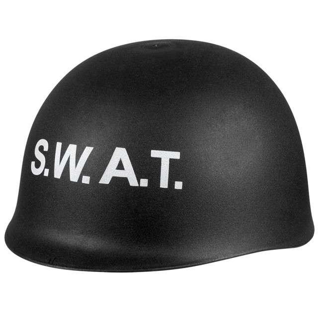 """Hełm """"Policjant SWAT"""", czarny, BOLAND"""
