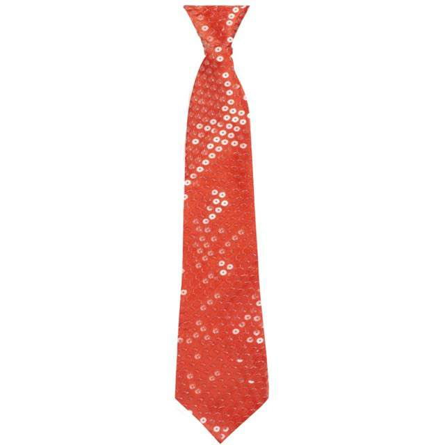"""Krawat """"Shiny"""", czerwony, BOLAND"""
