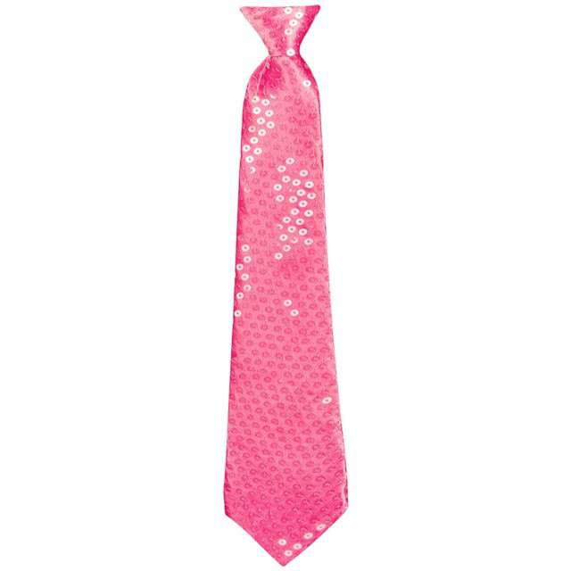 """Krawat """"Shiny"""", różowy, BOLAND"""