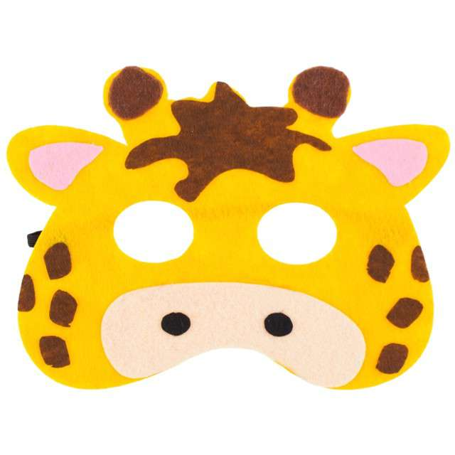 "Maska ""Żyrafa"", filcowa, GODAN"