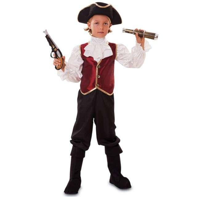"""Strój dla dzieci """"Pirat Jack"""", FYASA, rozm. 7-9 lat"""