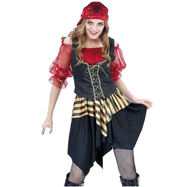 """Strój dla dorosłych """"Piratka Anna"""", FYASA, rozm. M/L"""