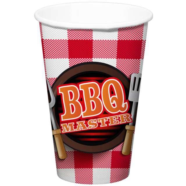 """Kubeczki papierowe """"BBQ Master"""", FOLAT, 700 ml, 8 szt"""