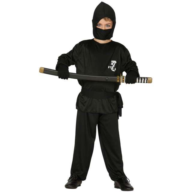 "Strój dla dzieci ""Ninja Yamakasi"", GUIRCA, rozm. 10-12 lat"