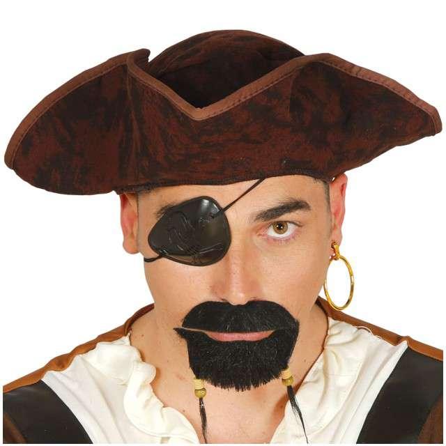 Kapelusz Pirat Barnaba brązowy GUIRCA