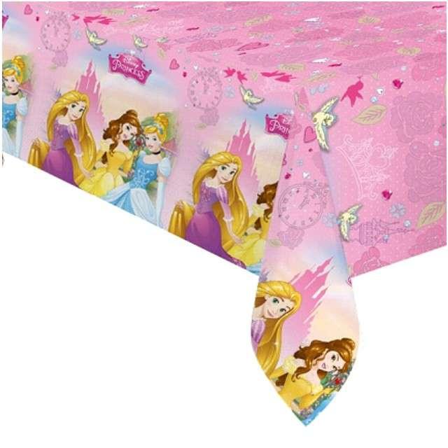 """Obrus foliowy """"Księżniczki Disneya - Princess"""", PROCOS, 180x120 cm"""