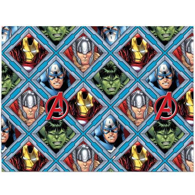 """Obrus foliowy """"Mighty Avengers"""", PROCOS, 180x120 cm"""
