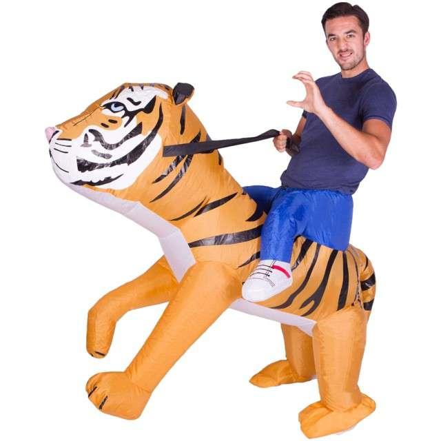 """Strój dla dorosłych """"Tygrys"""", GODAN, nadmuchiwany"""