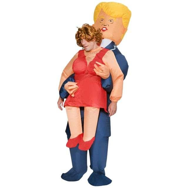 """Strój dla dorosłych """"Lambada z Trumpem"""", GODAN, nadmuchiwany"""