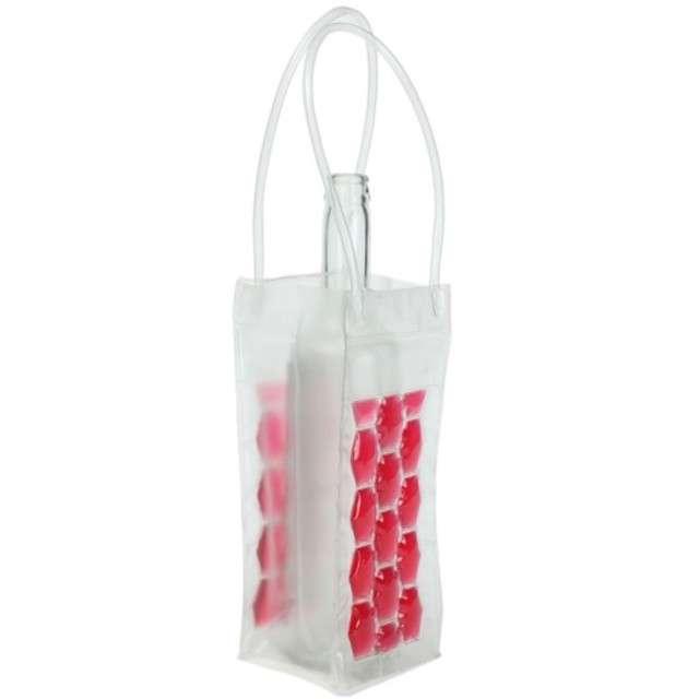 Cooler na butelki, czerwony, GadgetMaster