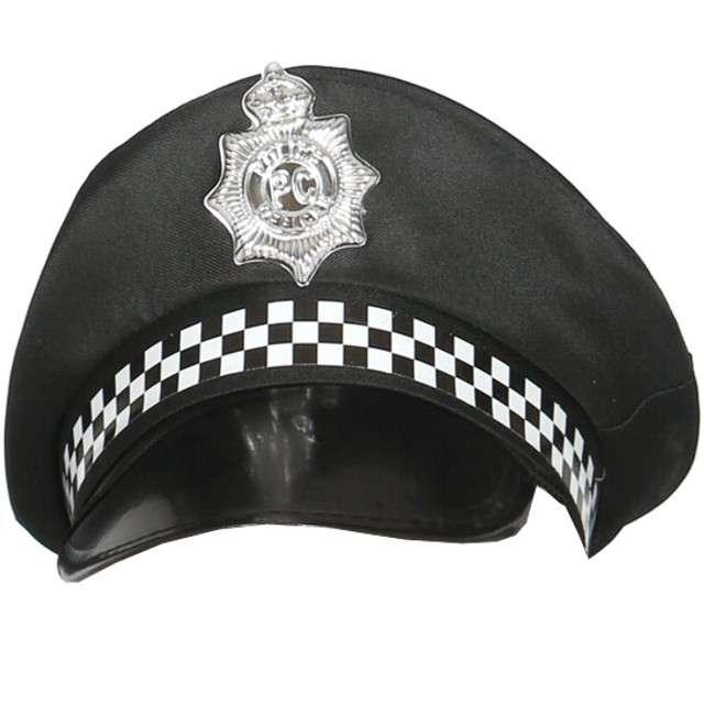 """Czapka """"Brytyjki Policjant"""", GUIRCA, czarna"""