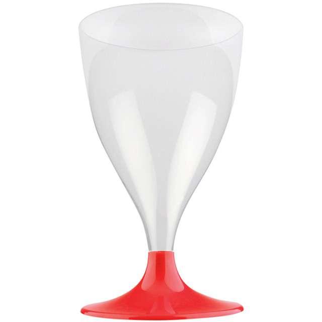 """Kieliszki jednorazowe """"Wino Claassic"""", czerwone, GoldPlast, 200 ml, 10 szt"""