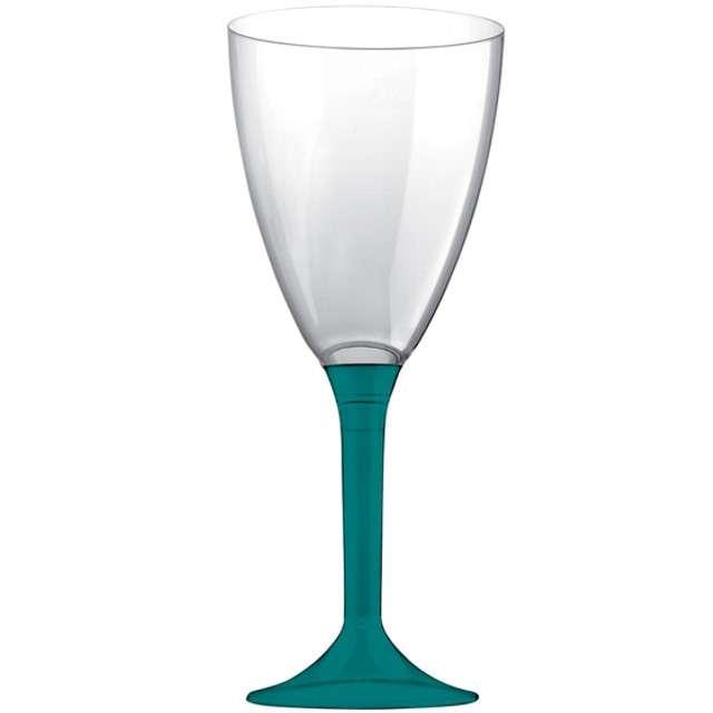 """Kieliszki jednorazowe """"Wino Classic"""", zielone ciemne, GoldPlast, 180 ml, 10 szt"""