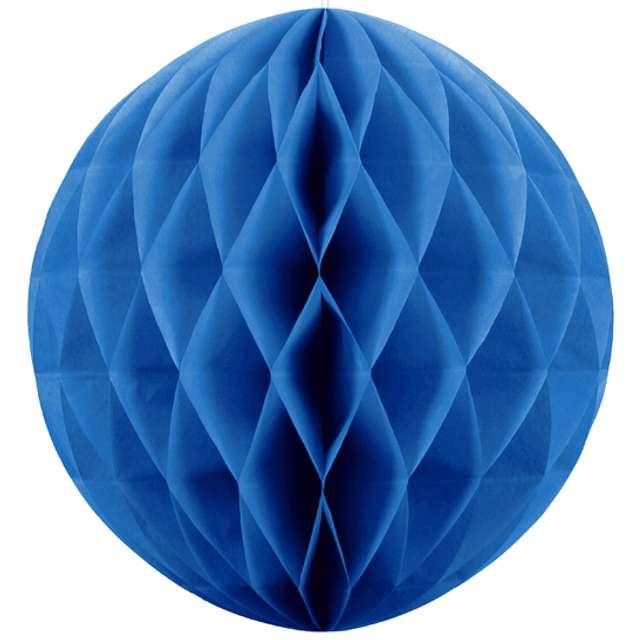 """Dekoracja """"Honeycomb Kula"""", niebieski, 20 cm"""