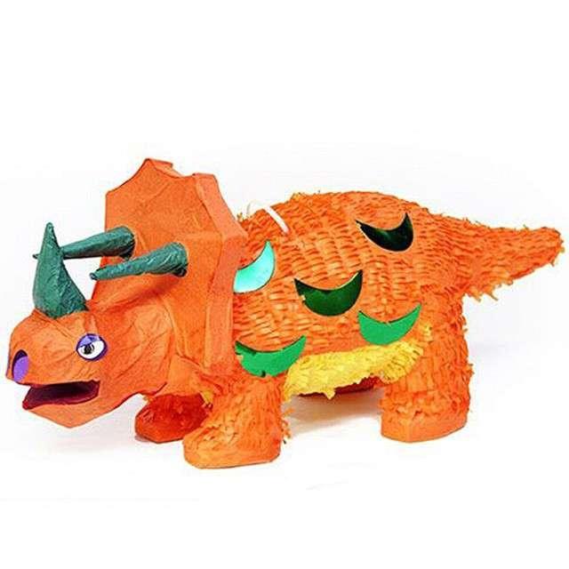 Piniata Dinozaur pomarańczowy UNIQUE 55x23 cm