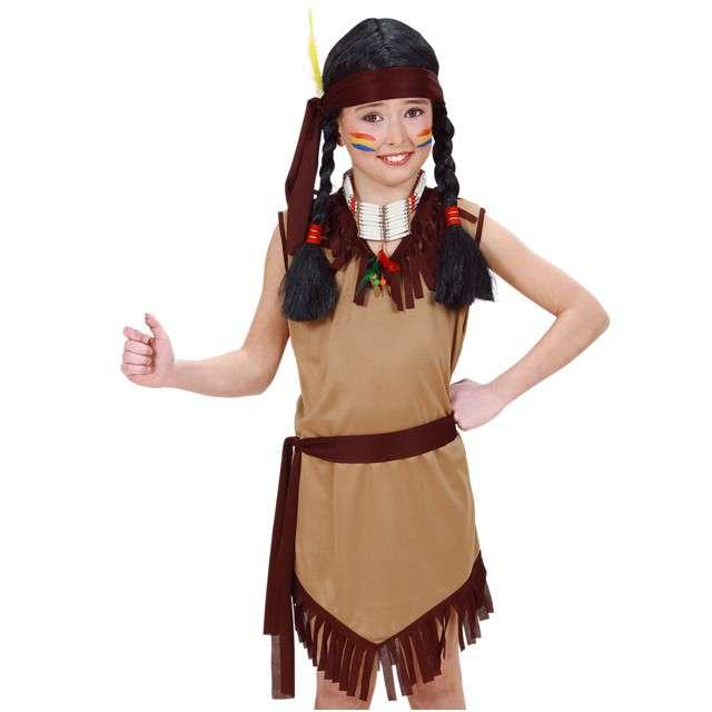 """Strój dla dzieci """"Indianka Janey"""", WIDMANN, rozm. 5-7 lat"""