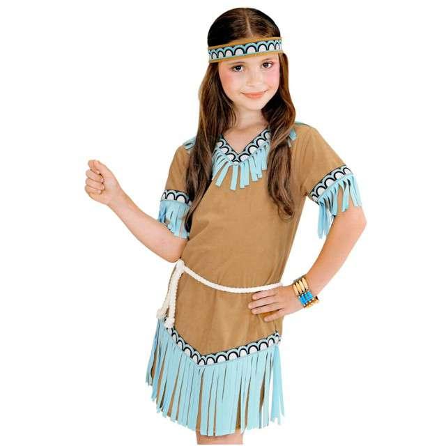 """Strój dla dzieci """"Indianka Teetonka"""", WIDMAN, rozm. 4-5 lat"""