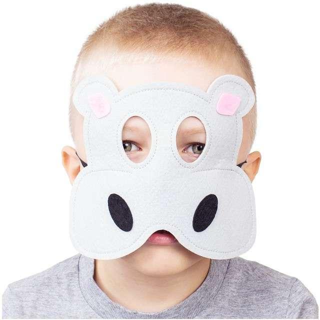 Maska Hipopotam Hipcio filcowa GODAN