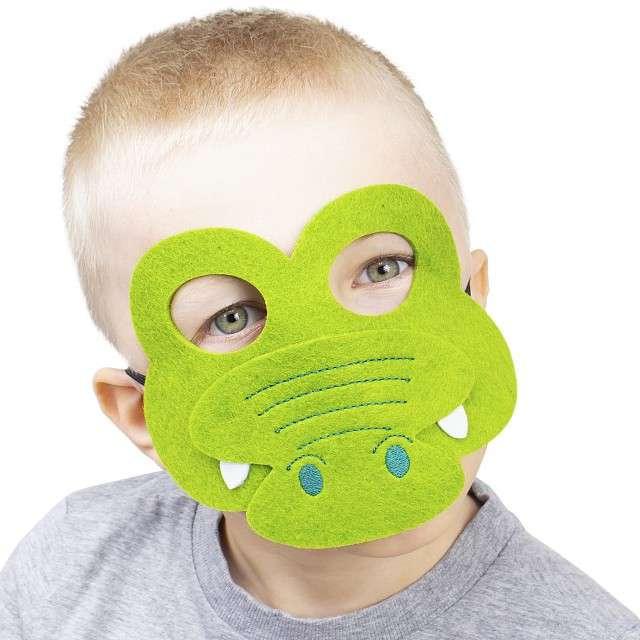 Maska Krokodyl filcowa GODAN