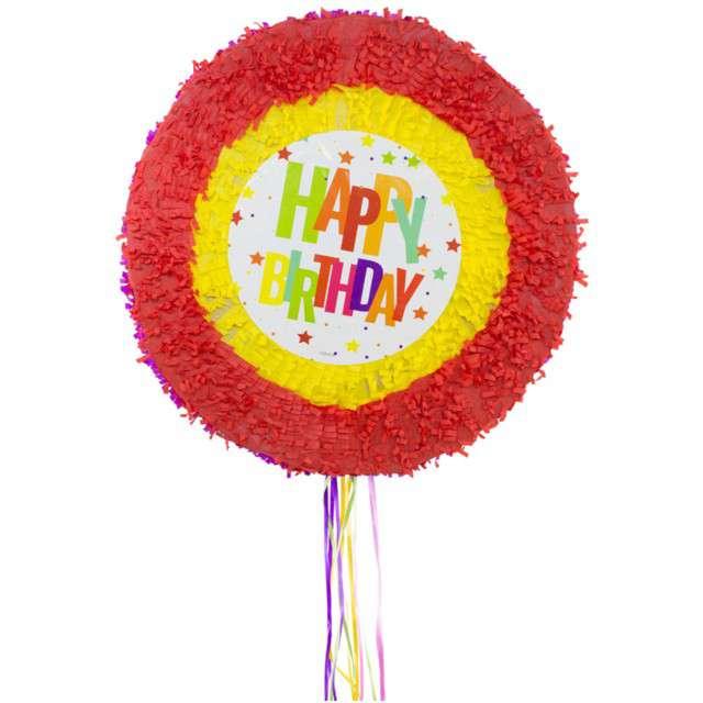 """Piniata """"Happy Birthday - Gwiazdki"""", FOLAT, rozm. 48 cm"""